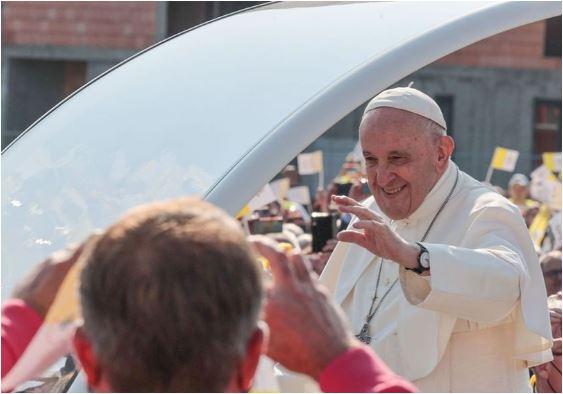 Udalosti návštevy pápeža Františka z archívu RTVS
